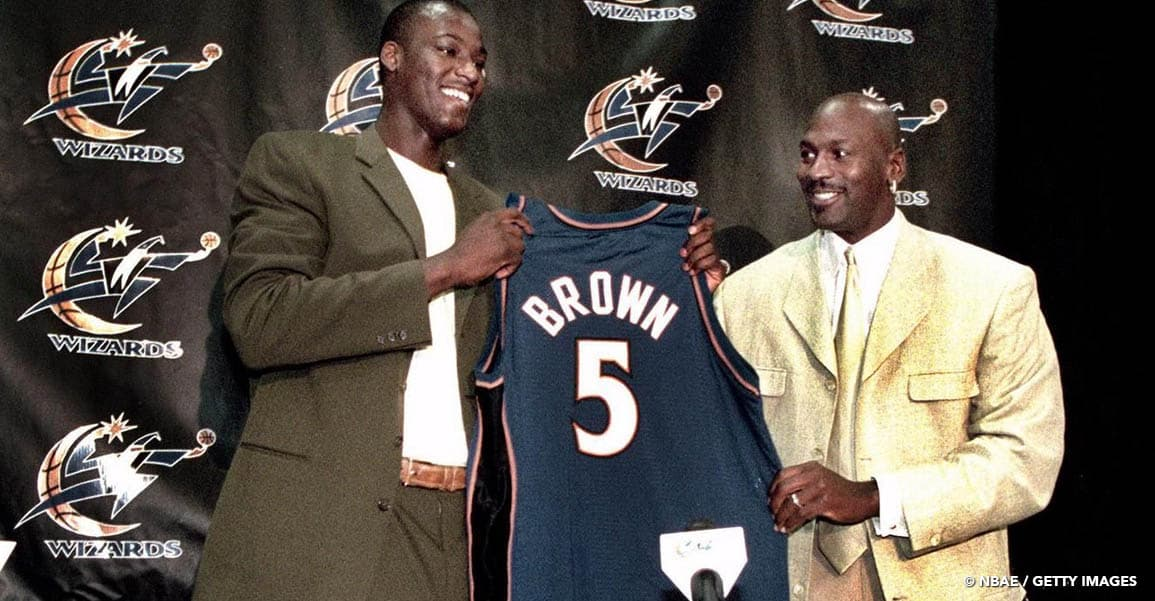 Michael Jordan pas responsable du fiasco Kwame Brown ?