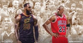 Michael Jordan vs LeBron James : Le classement des 16 équipes affrontées en finales