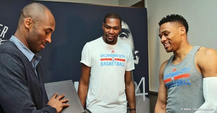 Kobe à l'origine de la séparation entre Russell Westbrook et Kevin Durant ?