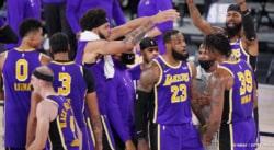 Les Lakers, sur un air de Rockets