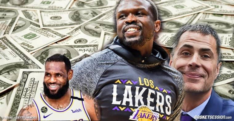 Les Lakers ont trouvé une combine à 5 millions pour se renforcer pendant l'intersaison