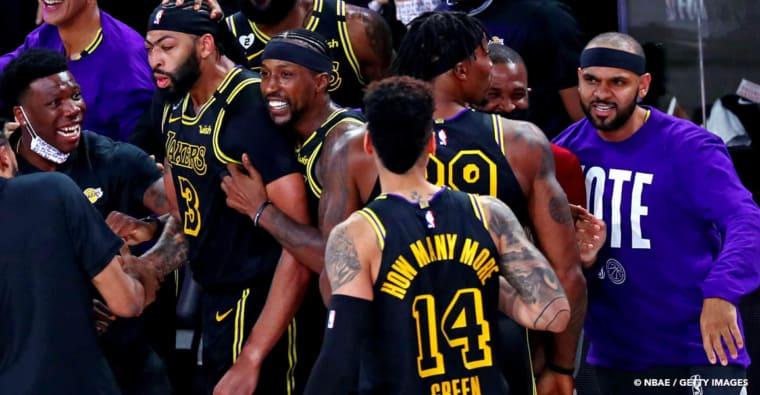 Le maillot très spécial des Lakers pour aller chercher le titre