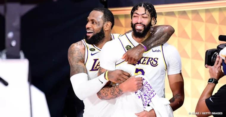 «On l'a fait pour Kobe», le bel hommage d'Anthony Davis après le titre des Lakers