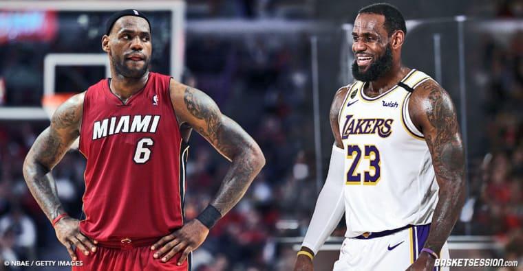 LeBron James révèle quelle est la meilleure version de… LeBron James