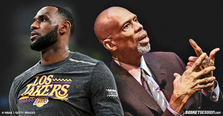 Kareem Abdul-Jabbar : «J'ai énormément de respect pour LeBron James»