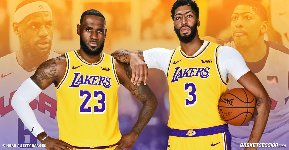 LeBron James & Anthony Davis : les clés de la naissance du meilleur duo de NBA