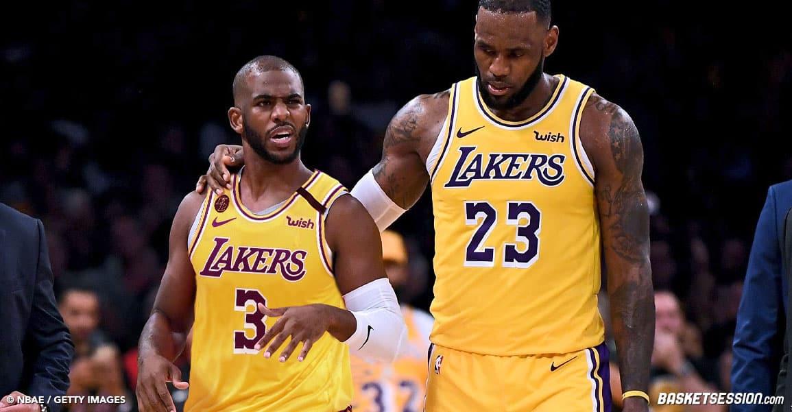 Chris Paul aux Lakers, le prochain objectif de LeBron James ?