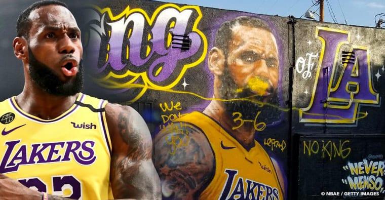 LeBron James a appris une vraie leçon avec les fans des Lakers