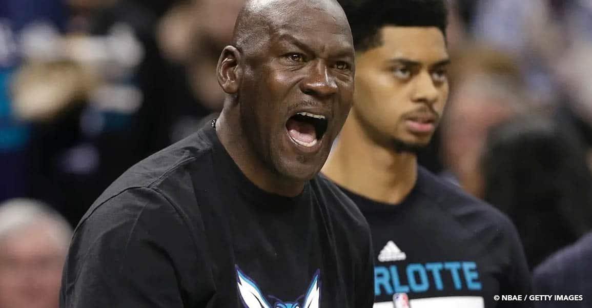 NBA Draft Michael Jordan Hornets