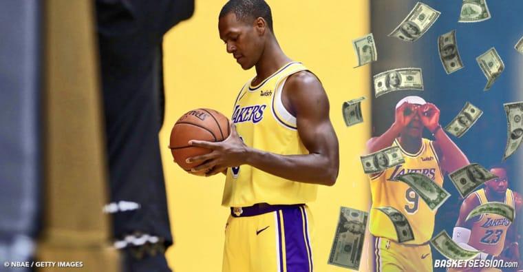 Rajon Rondo veut son argent ! Adios les Lakers ?