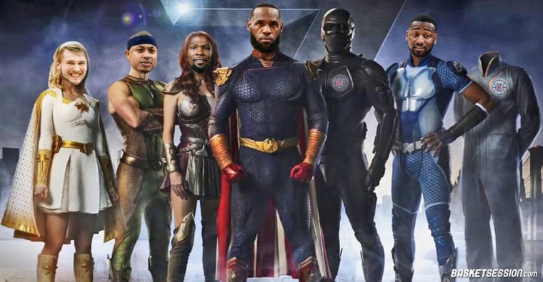 Et si les joueurs NBA étaient des personnages de « The Boys » ?