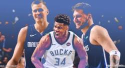 Giannis Antetokounmpo et Luka Doncic réunis: Le duo qui terrifiait la NBA