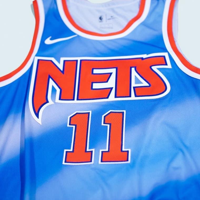 Le nouveau maillot vintage des Nets, à l'ancienne mais tellement beau !