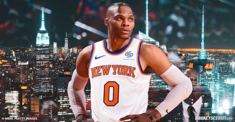Russell Westbrook et les Knicks, ça ne se fera sans doute pas