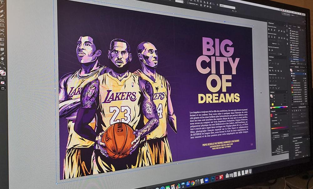 REVERSE #1 édition Premium : Tout le basket de L.A. dans un Mook hors-norme