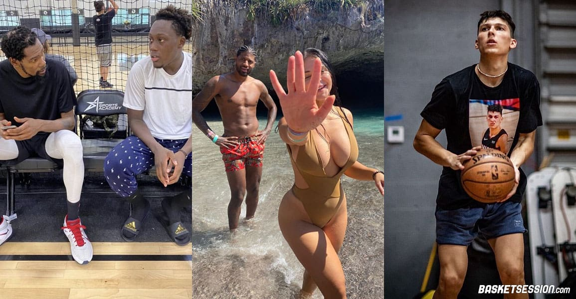 En bref en NBA : PG a enfin scoré ! Doumbouya s'entraîne avec Kevin Durant, Herro part en Ego Trip