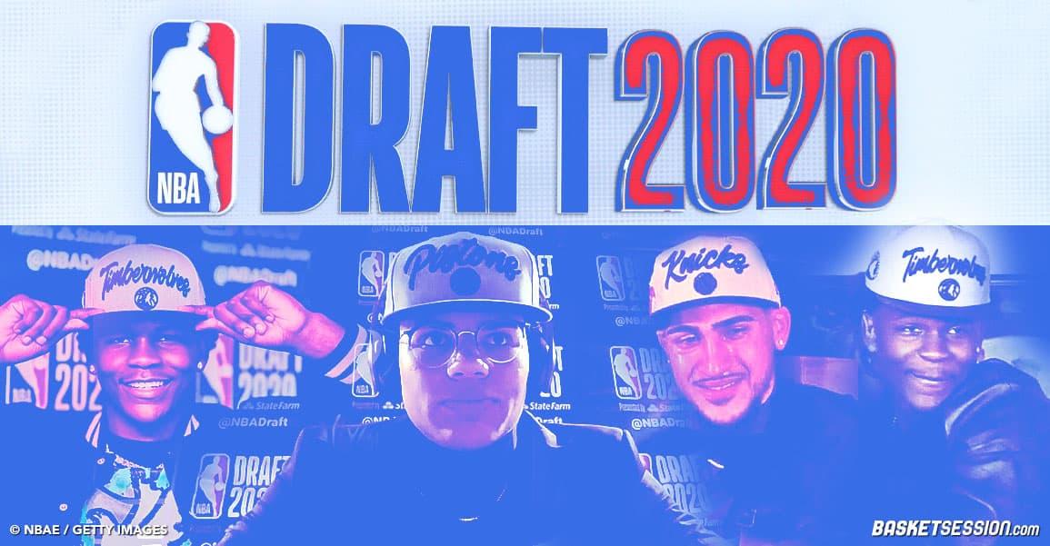NBA Draft 2020 : tous les picks et tous les moves