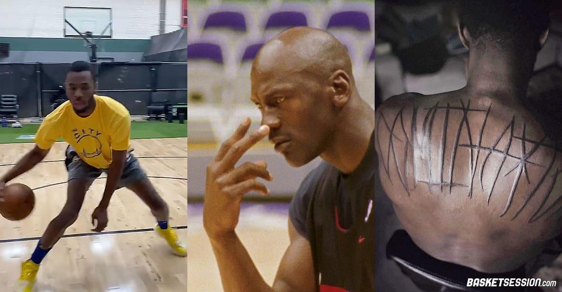 En bref en NBA : nouvelle preuve que Jordan est un monstre, tatouage SM pour Ayton, Wiggins se prend pour Curry