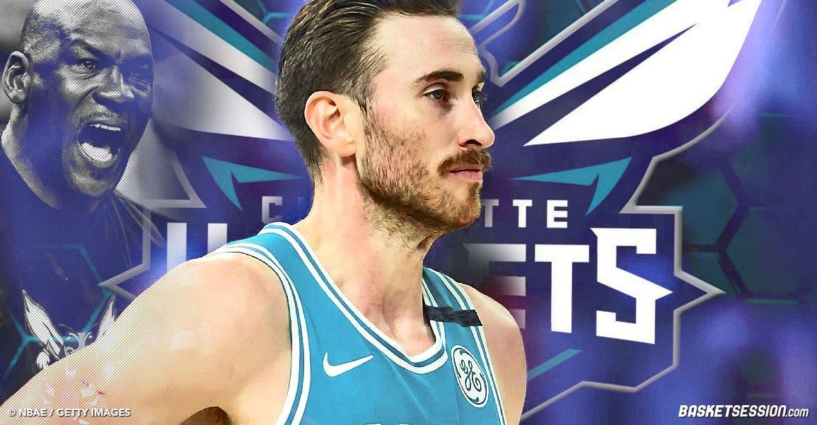 NBA Gordon Hayward Hornets charlotte