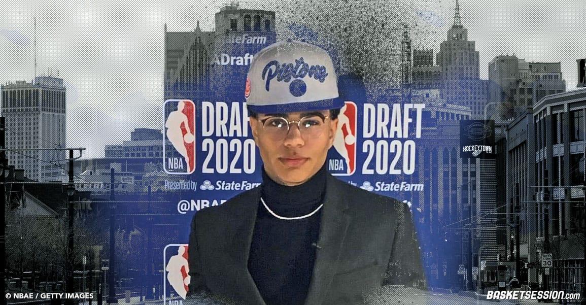 NBA KILLIAN HAYES DETROIT PISTONS