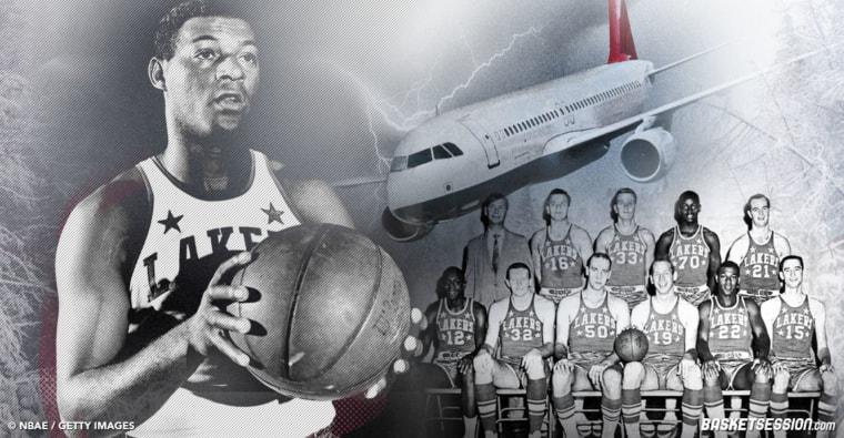 L'histoire folle du crash miraculeux des Lakers d'Elgin Baylor