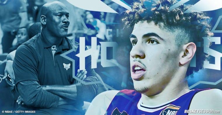 Michael Jordan valide la sélection de LaMelo Ball aux Hornets
