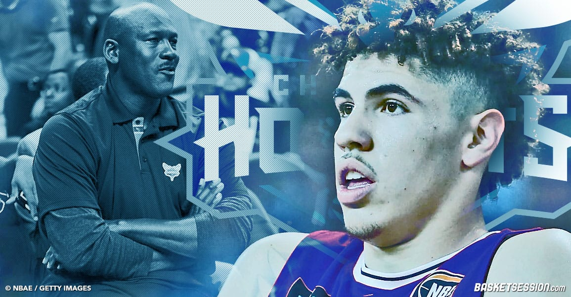 NBA LAMELO BALL HORNETS JORDAN