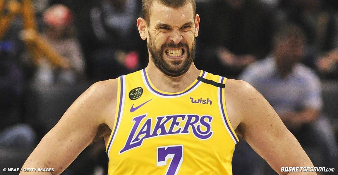 Marc Gasol aux Lakers, c'est deux saisons pleines
