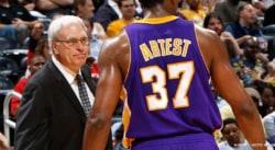 Ron Artest raconte comment Phil Jackson le rendait fou