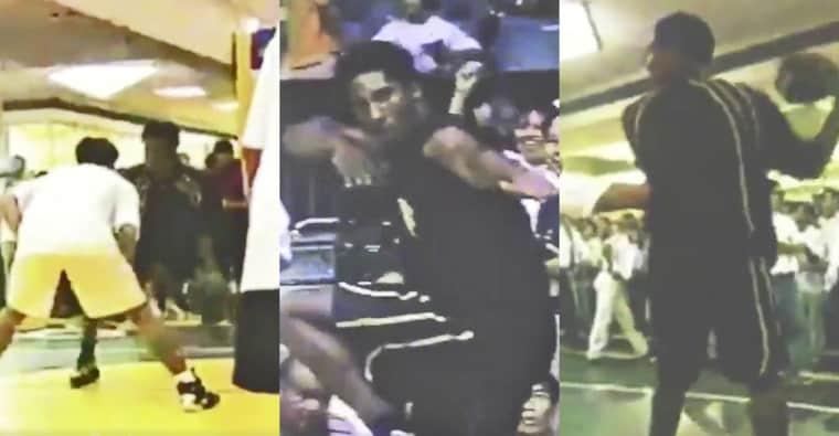 Une ancienne vidéo de Kobe sortie des cartons : Un jeune Black Mamba faisait le show en Asie en 98