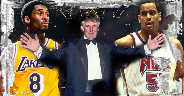 Quand Donald Trump séparait une bagarre entre Kobe Bryant et Jayson Williams