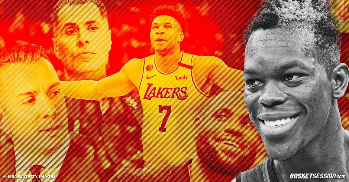 Théorie du complot : Dennis Schröder n'est qu'un pion pour faire venir Giannis aux Lakers