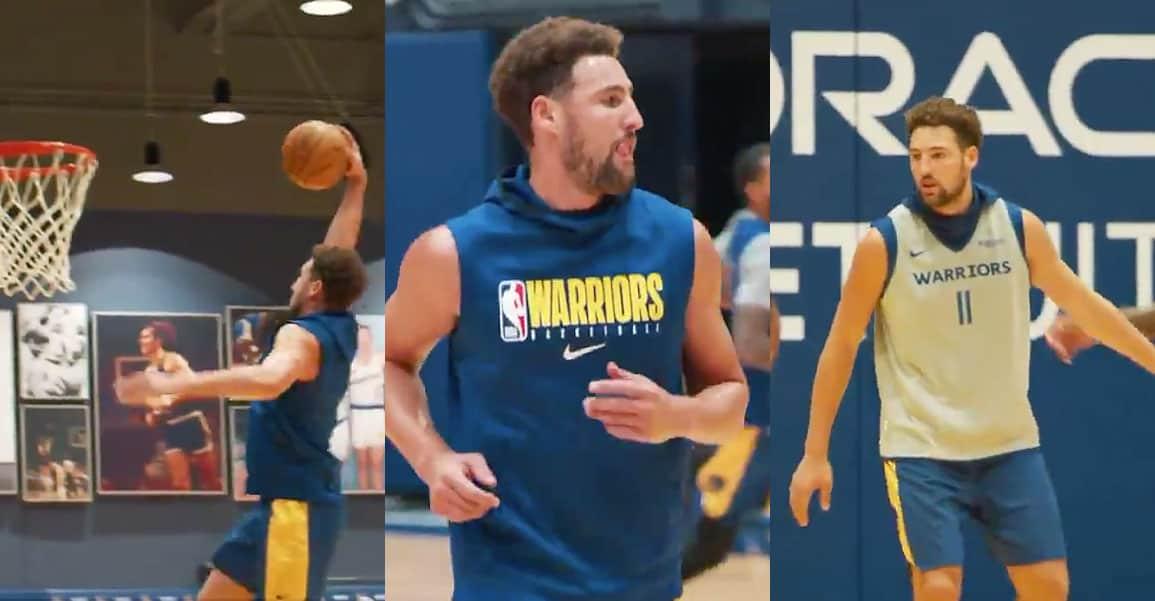 Les Warriors récupèrent un Klay Thompson «différent», mais toujours aussi crucial