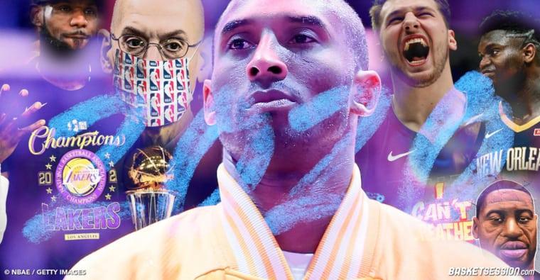 Kobe, LeBron, BLM, le Covid… Les 20 moments de l'année 2020