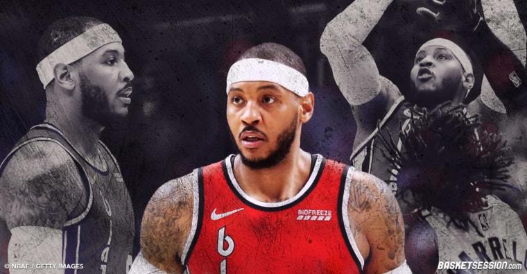 Comment Carmelo Anthony peut aider les Blazers à passer un cap