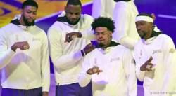 Lakers : une cérémonie très spéciale mais pleine d'émotions