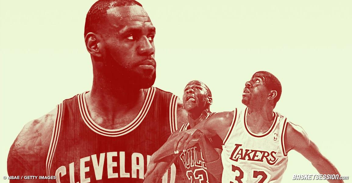 LeBron James a-t-il vraiment gagné les deux titres les plus durs de l'histoire ?