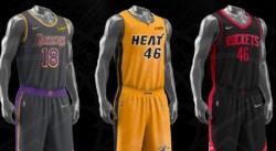 18 nouveaux maillots (moches) pour la saison NBA