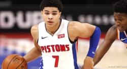 Killian Hayes de retour avec les Detroit Pistons