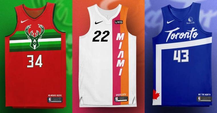 Encore de nouvelles idées de jerseys NBA, mais magnifiques cette fois
