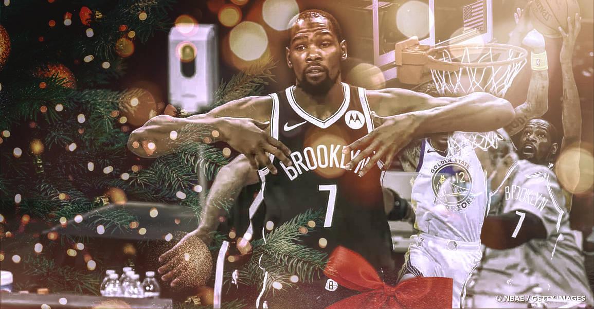 Kevin Durant déjà comme neuf pour Noël !