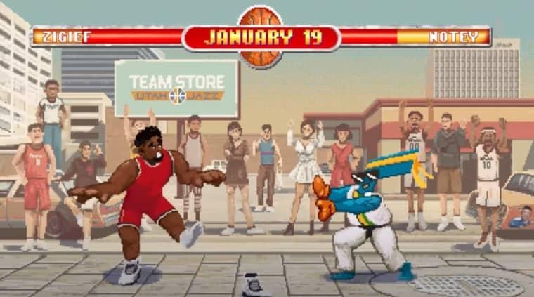 Le Jazz tue le game en dévoilant son calendrier dans un jeu vidéo !