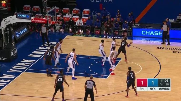La nouvelle bourde des Knicks, encore une fois du grand art