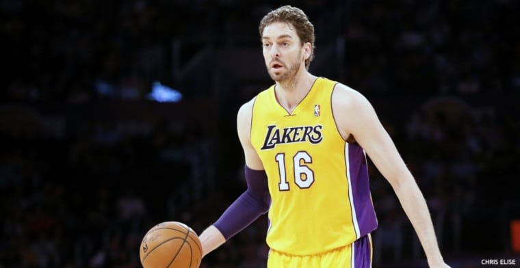 Pau Gasol se tient prêt pour les Lakers, mais peuvent-ils lui trouver une place ?