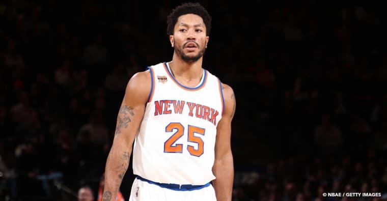 Derrick Rose de retour aux Knicks, c'est officiel!