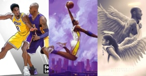 Les plus beaux hommages graphiques à la mémoire de Kobe et Gianna