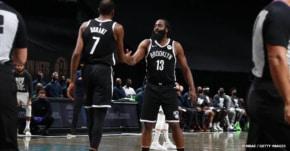 Kevin Durant, James Harden et les Nets, ça promet déjà du lourd
