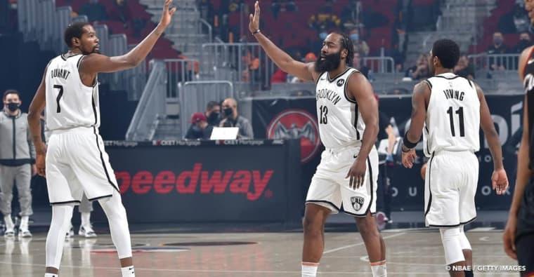 Grâce à James Harden, les Nets vont sans doute briser une série honteuse