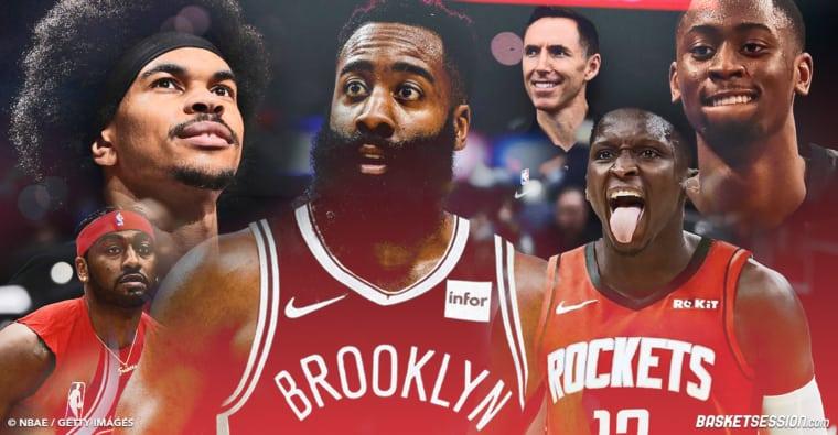 James Harden, les Nets, les Rockets : Les gagnants et les perdants d'un trade massif !