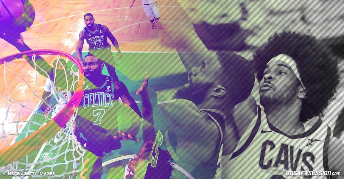 Jaylen Brown s'offre un carton et un record NBA contre les Cavaliers